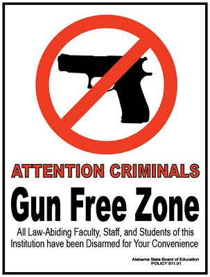 "How do you feel about ""gun free zones""? - Concealed Carrying & Personal Protection"